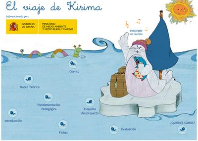 AYUDA PARA MAESTROS: El viaje de Kirima - Juegos, cuentos y canciones para aprender a respetar el medio ambiente