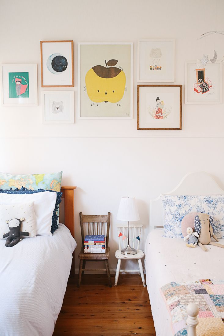 Ideas and inspiration for kids decorating with stuva petit amp small - 23 Cool Shared Kids Room Ideas