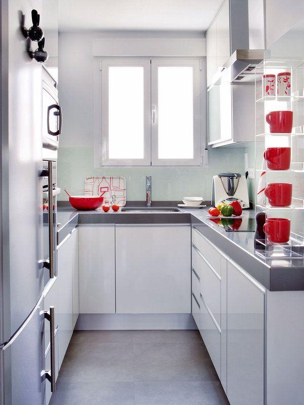 Cocinas pequeñas en las que todo es posible