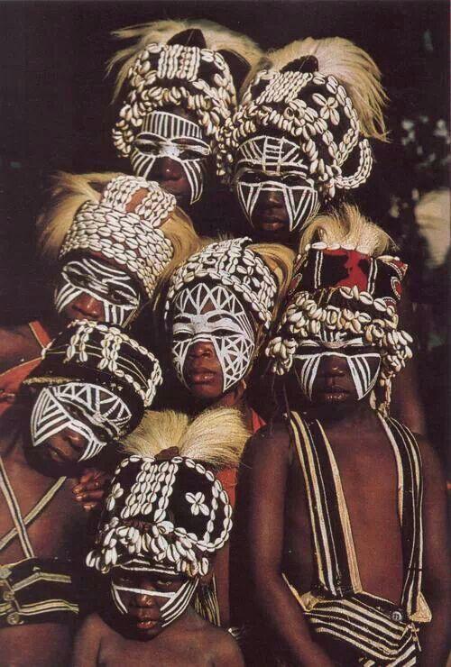 De la tribu Dan, en Costa de Marfil