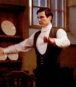 Thomas and the Bear Dance   Downton Abbey