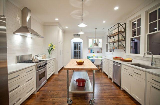 Kücheninsel auf Rollen: Form und Funktion   Küche   Pinterest