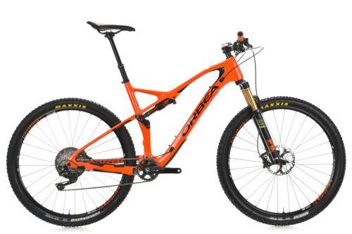 "2017 Orbea Occam TR M10 Carbon Full Suspension Mountain Bike X-LARGE 20.5"" Fox"