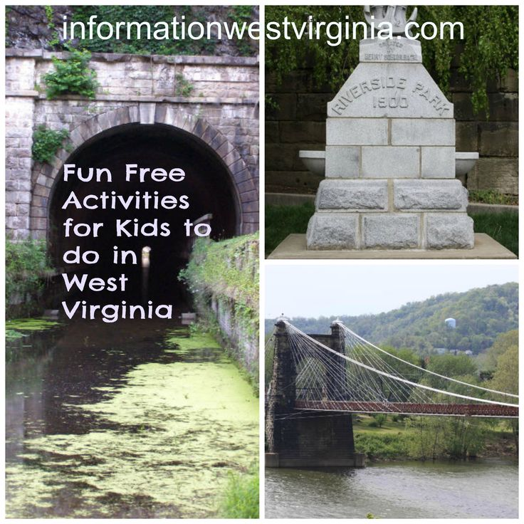 Fun, Free Activities for Kids to do in West Virginia - Information West Virginia