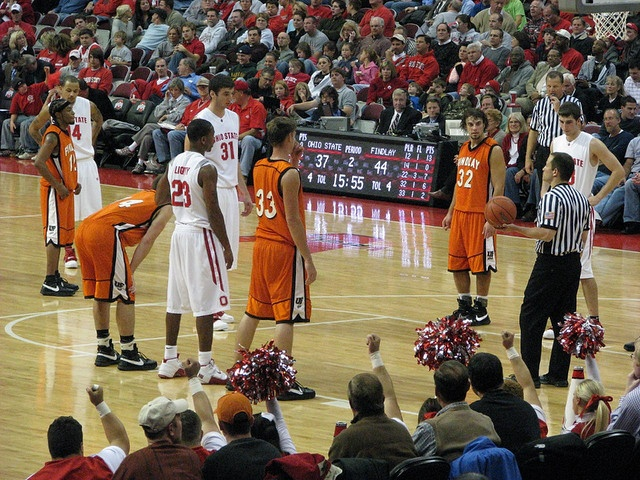 Ohio State University Basketball: Findlay University at Ohio State Men's exhibition basketball game on November 6, 2007.    Findlay won the game, 70-68.    Ohio State Buckeyes     Join the best basketball website here at  http://www.elitegreatness.com