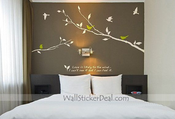 Love is Likely to The Wind Wall Sticker