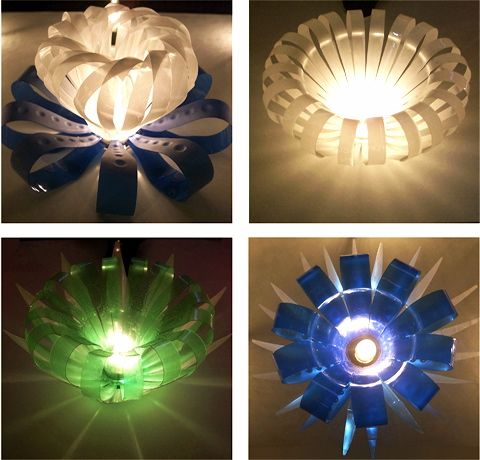 Redesign bottle lights recycled plastic bottles for Recycle and redesign ideas