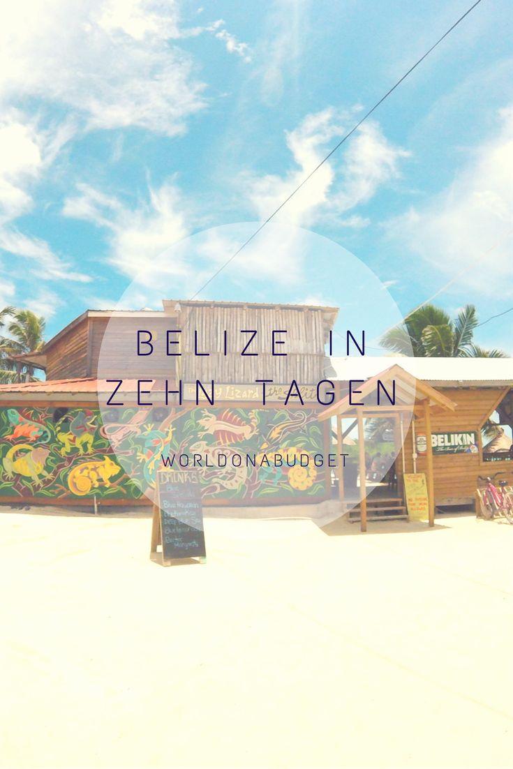 In zehn Tagen durch #Belize! Unsere Übersicht zu den Destinationen #CayeCaulker, #Hopkins und #SanIgnacio. #Routentipps, Infos über #Transport, #Essen, #Kosten und #Sicherheit einer Reise durch das zentralamerikanische Land gibt es obendrauf!
