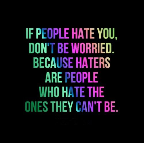 Funny Quotes About Haters: 66 Best Images About Haters On Pinterest