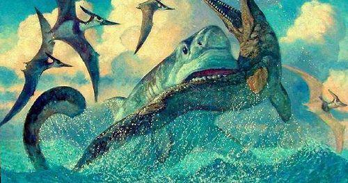 Megalodon attack! by David Leggett