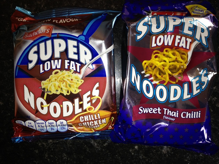 Batchelors Fat Free Super Noodles for a quick Syn Free Lunch / Snack or Extra Easy or Green