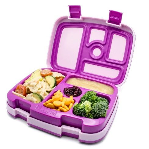 Bentgo Kids Leakproof Children's Lunch Box - Purple