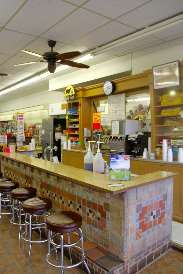 Summer on the 7 by chickasawcntry 36 travel ideas to for Old fashioned pharmacy soda fountain
