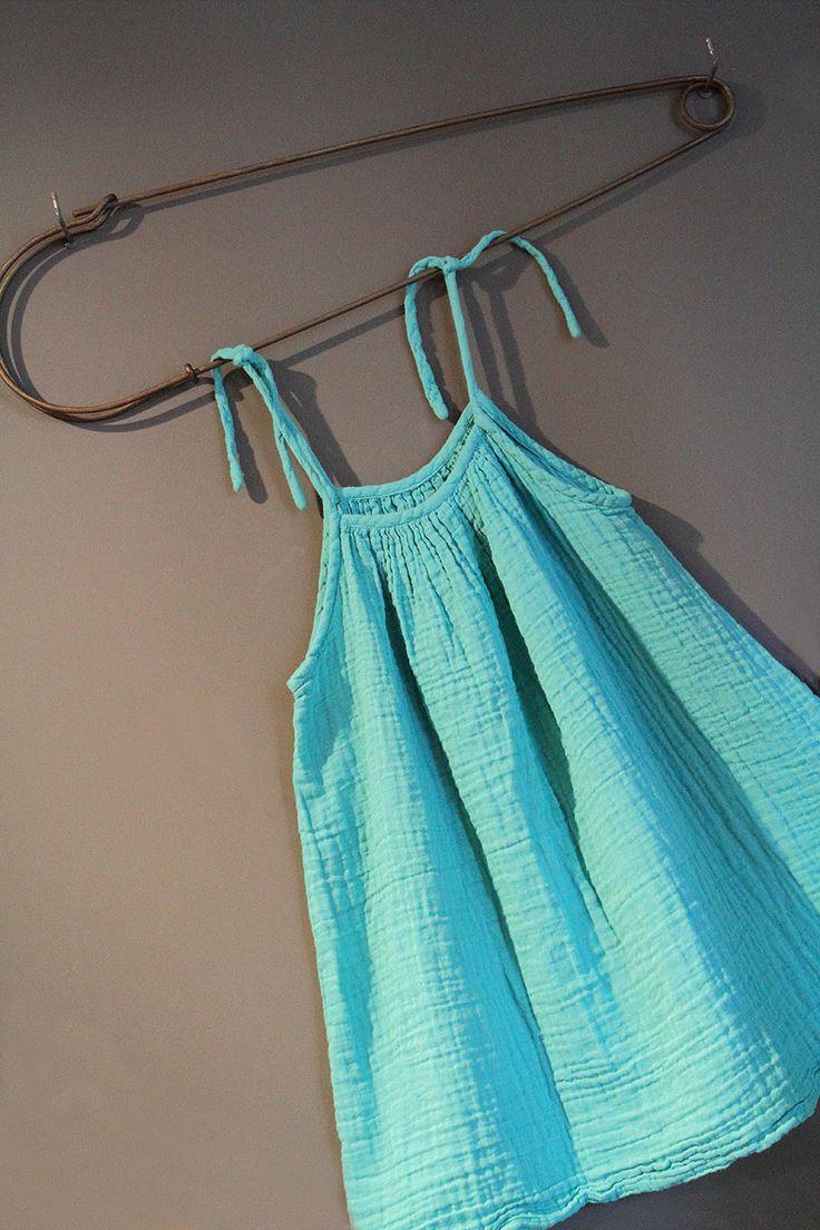 Blue dress by www.cyckids.com