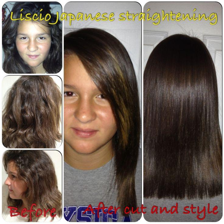 Liscio permanent straightening
