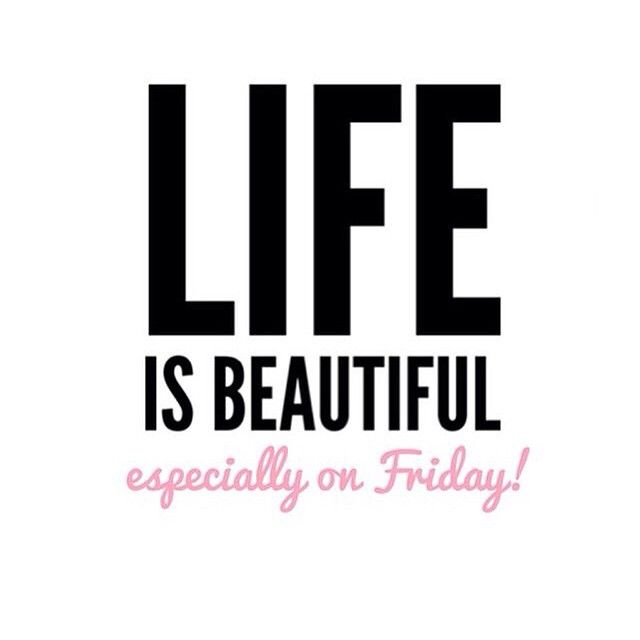 #friday i #love you. Almost #weekend