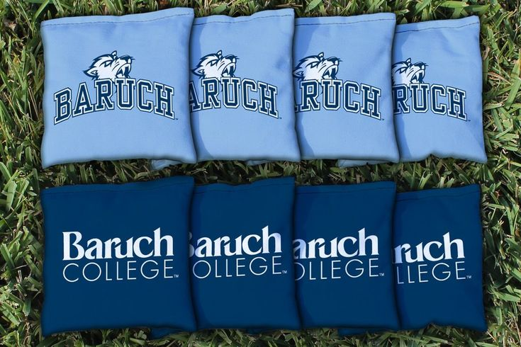 Cornhole All Weather Bag Set - Baruch College CUNY Bearcats