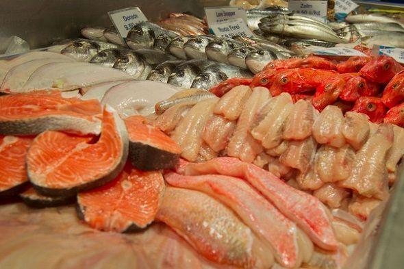 Op de markt – Vis