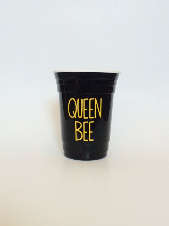 Queen Bee Cup, Beyonce Cup by TheCraftyEngineerx