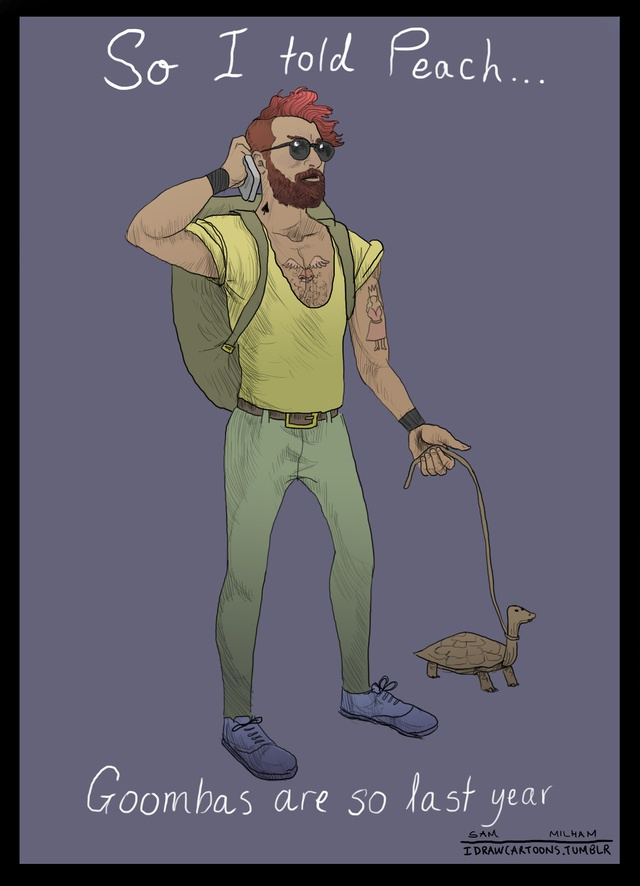 Its Called Hipster Mario. Youve Probably Never Heard Of It.