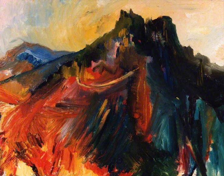 Mount St Hilarion, Cyprus, 1948 David Bomberg