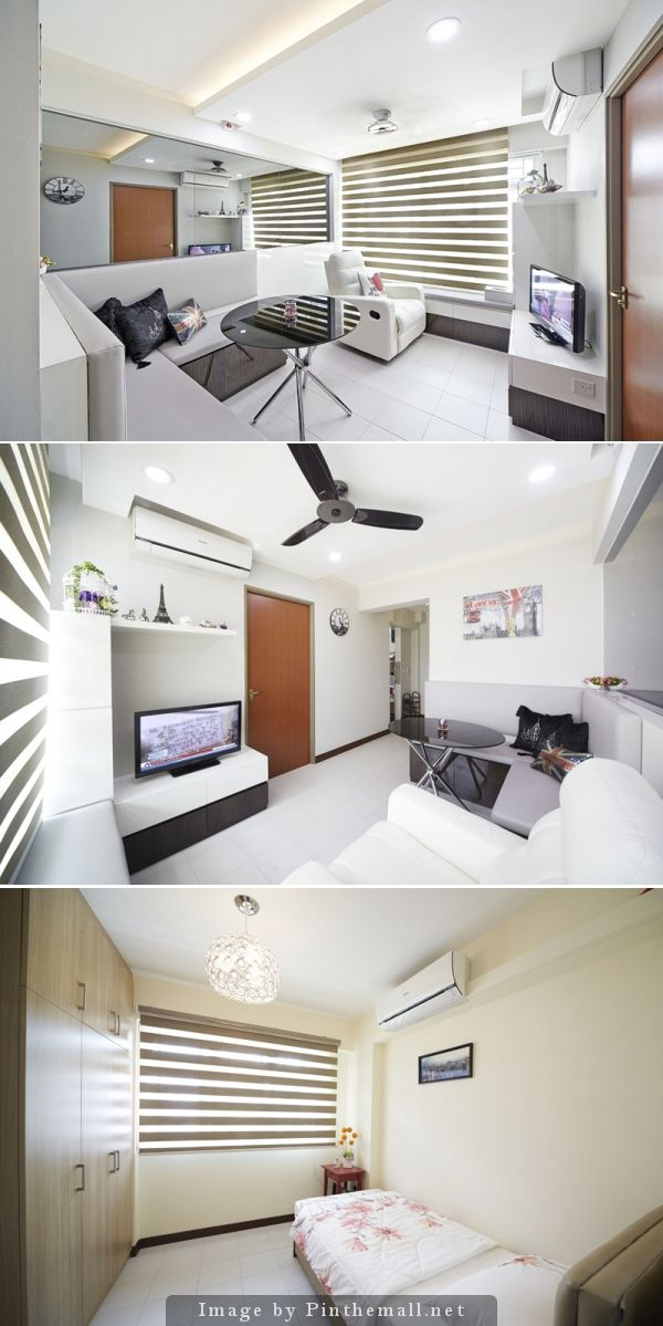 3 Room Hdb Interior Design Ideas: Blk 211D Punggol Walk 2RM HDB BTO By The Carpenters