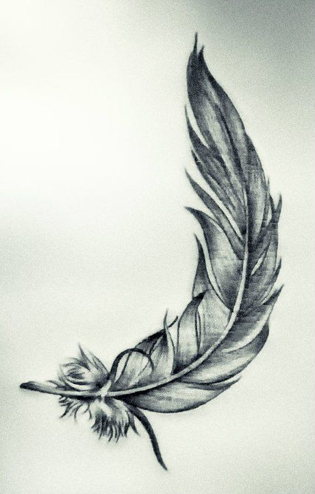 Feather Small Tattoos Pinterest