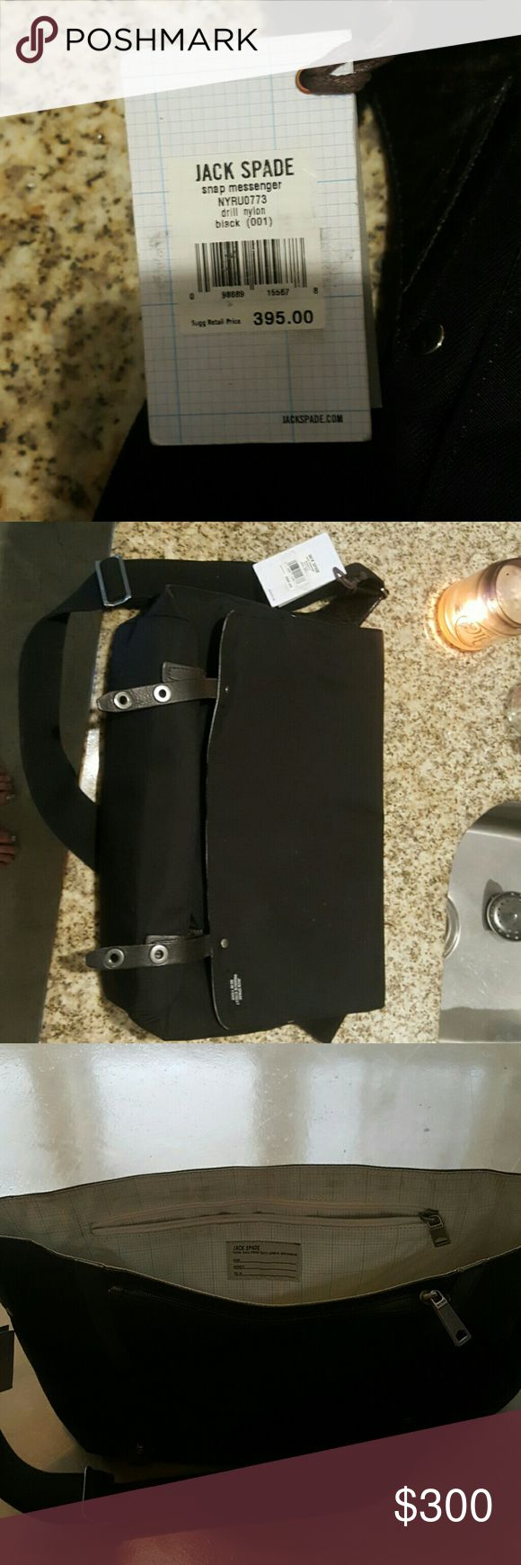 Jack spade snap messanger New with tags Jack Spade Bags Messenger Bags