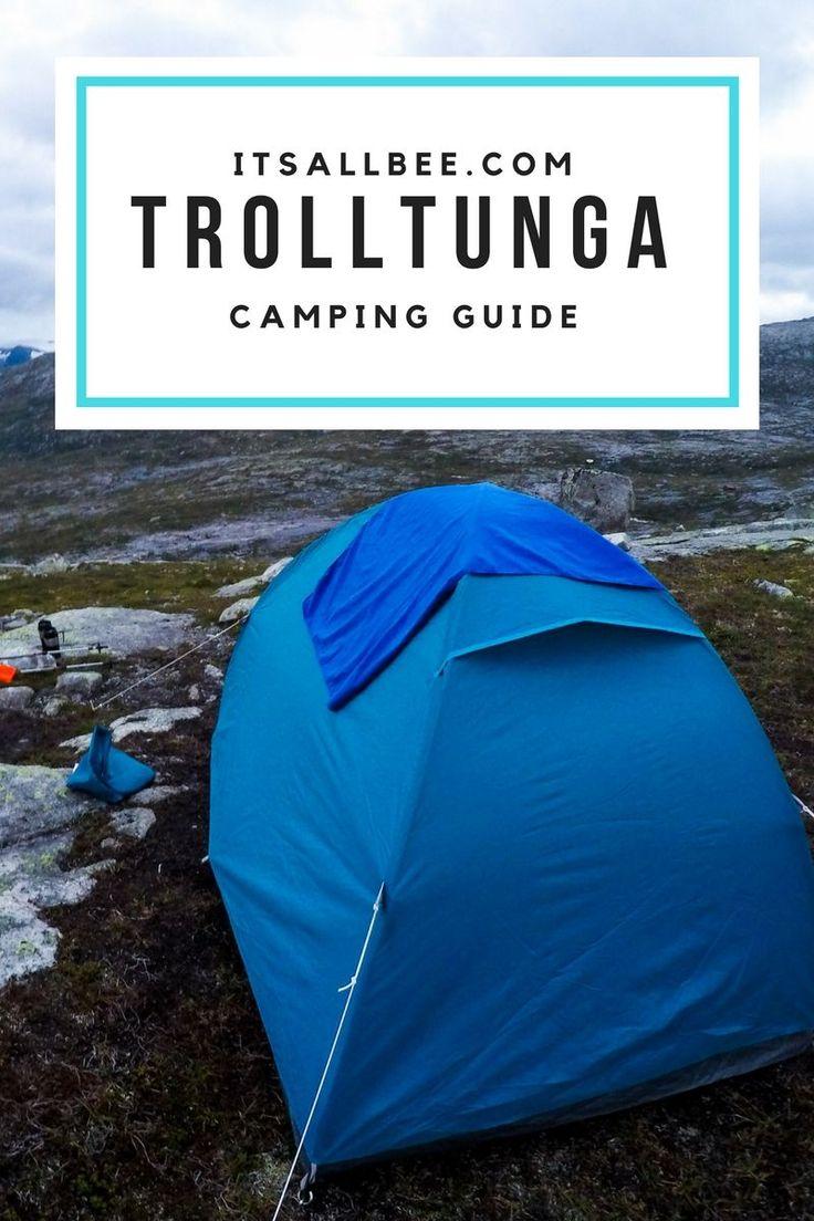 what to pack for trolltunga camping      #Europe #scandinavian #traveltips #packingtips #travel #traveltips #Bergen #oslo #mens #roadtrip #hiking #camping #mountain #outdoors #glacier #mountaingirls