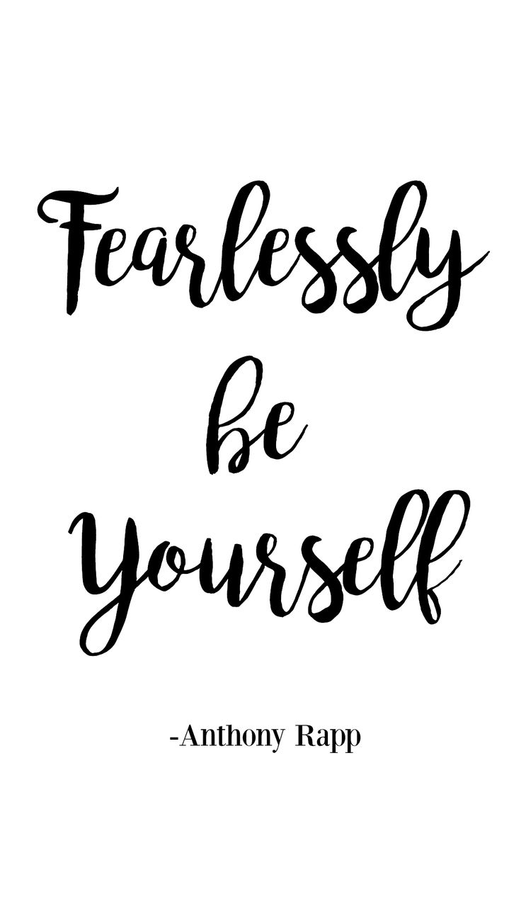 Quote About Yourself Alluring Best 25 Be Yourself Quotes Ideas On Pinterest  Be You Beauty