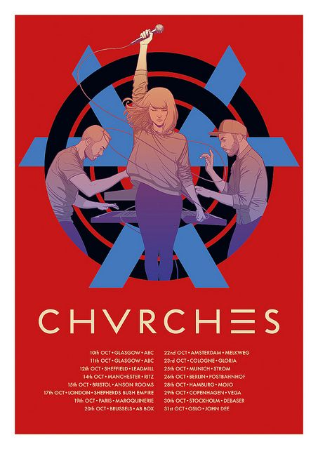 CHVRCHES by Jamie McKelvie