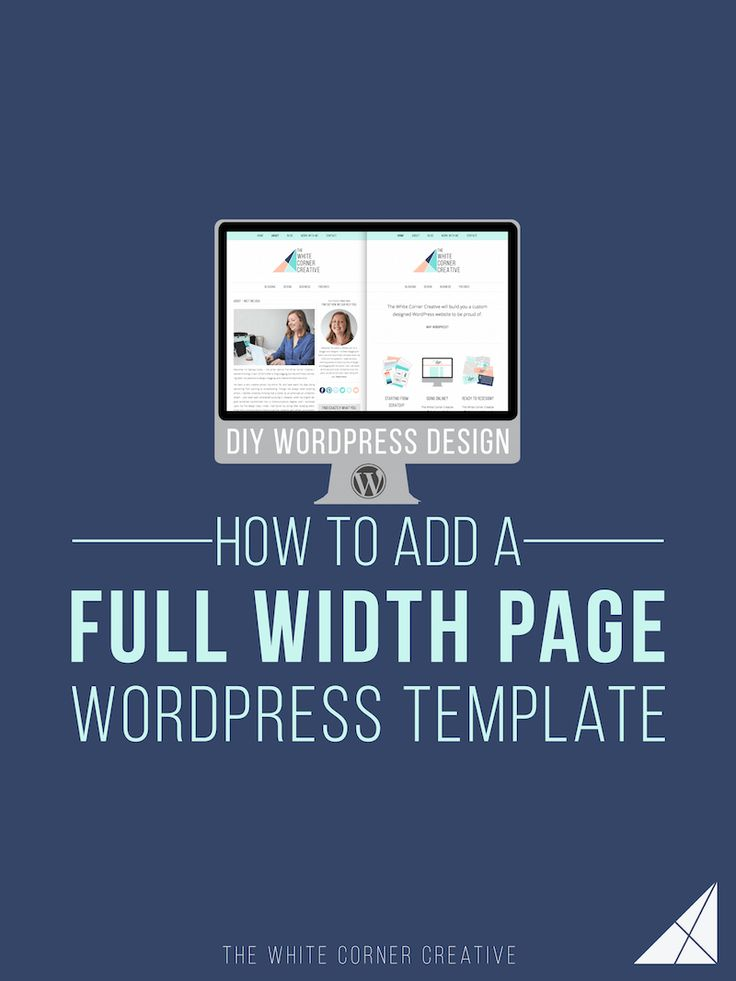 Knowing how to create a Wordpress templates like a full width page can help a lot when it comes to customizing your site design. Here's how.