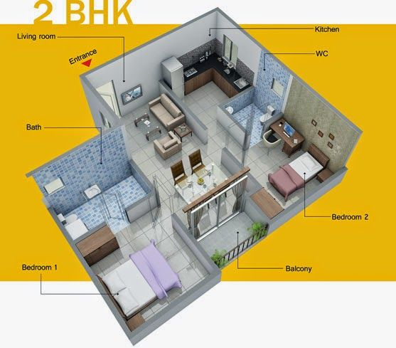 VBHC FLAT IN BHIWADI - 7042255002: VBHC Launch Affordable Flat In Bhiwadi 7042255002