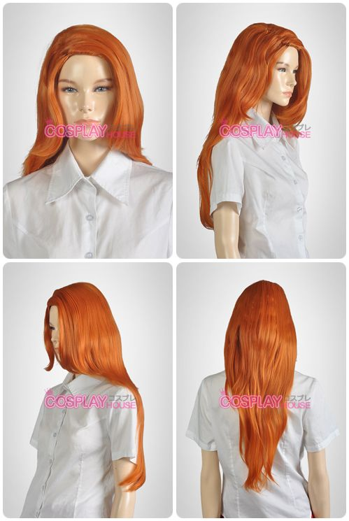 Disney -- Kim Possible - Kim Possible Cosplay Wig Version 01