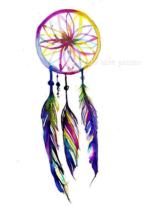 dreamcatcher watercolor - Pesquisa do Google