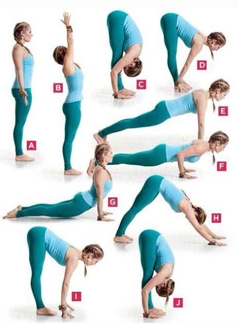 Intenta la secuencia del Yoga...