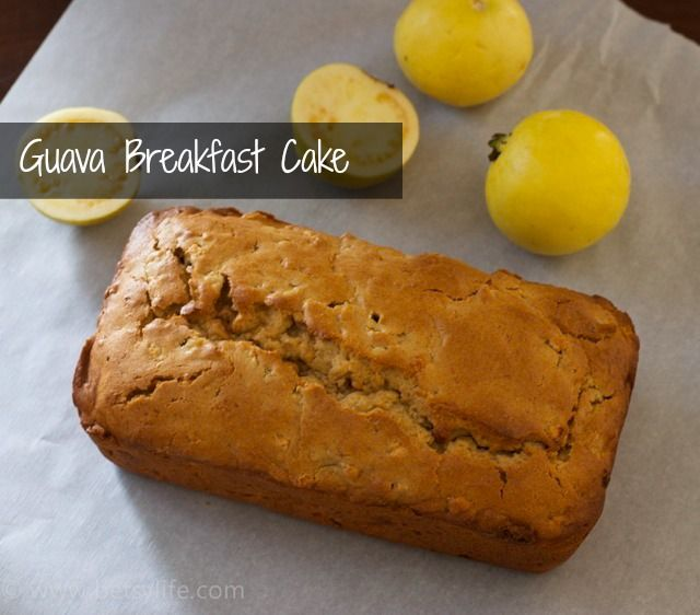 Guava Breakfast Cake
