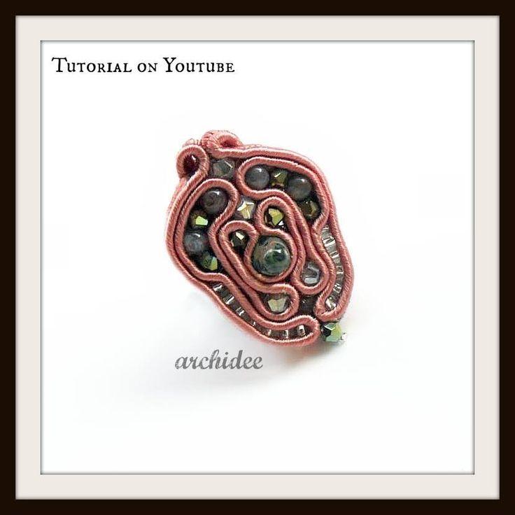 Tutorial Soutache | Anello Baroque | DIY Soutache Ring