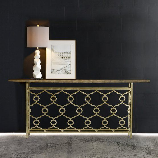 Hooker Furniture Melange Landon Hall Console Table
