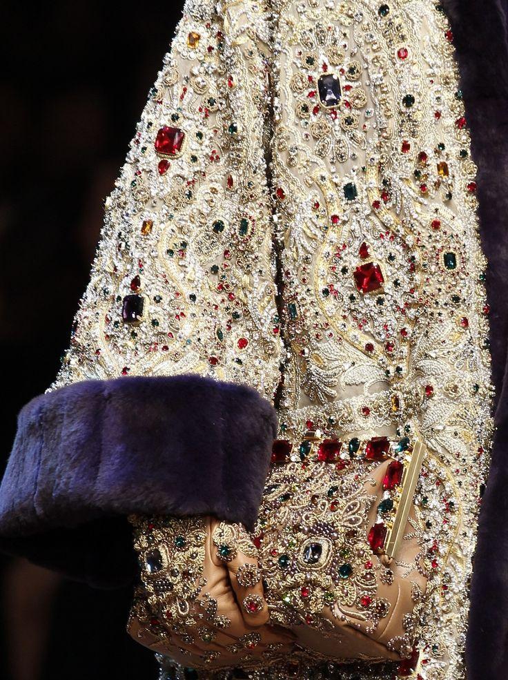 Dolce & Gabbana Fall 2014 Runway Details