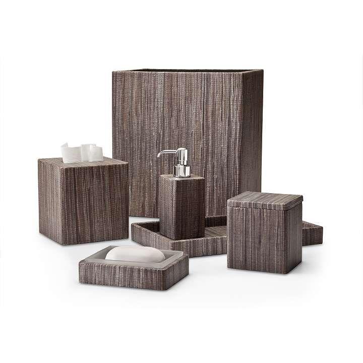 crystal bathroom accessories sets%0A Labrazel Hyacinth Dark Bath Accessories