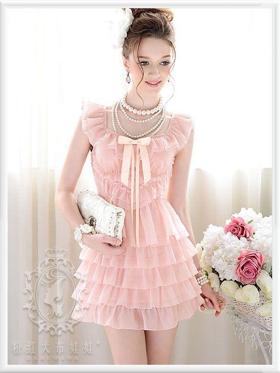 1000  ideas about Pink Ruffle Dress on Pinterest | Ruffle dress ...