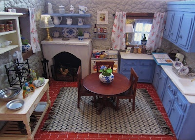 mini cottage kitchen