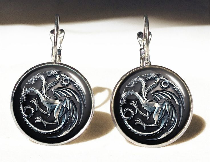 Game of Thrones Big Earrings, 0240ERS from EgginEgg by DaWanda.com