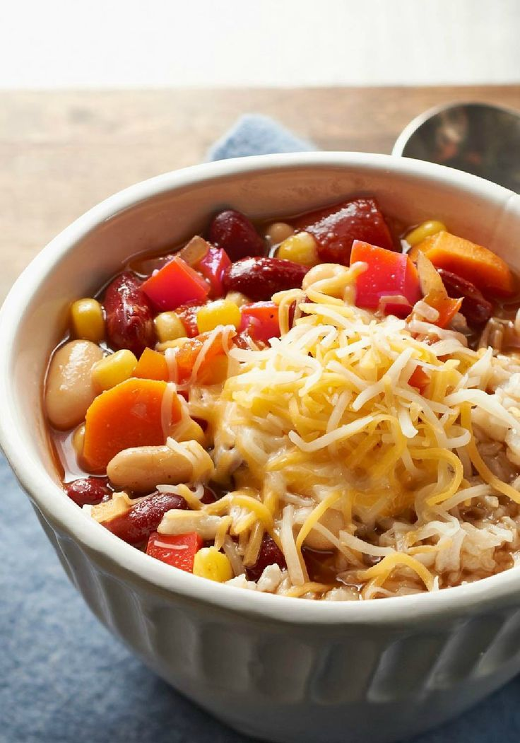 1715 best comfort food recipes images on pinterest kitchens two bean vegetarian chili garlicky sauted veggies make the base for this tasty two bean vegetarian chili recipe the surprise flavor boosting ingredient forumfinder Gallery