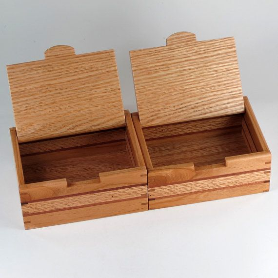 Keepsake Boxes Matched Pair Jewelry Box and Mens by JMCraftworks & 510 best Wooden boxes - design concepts and construction images on ... Aboutintivar.Com