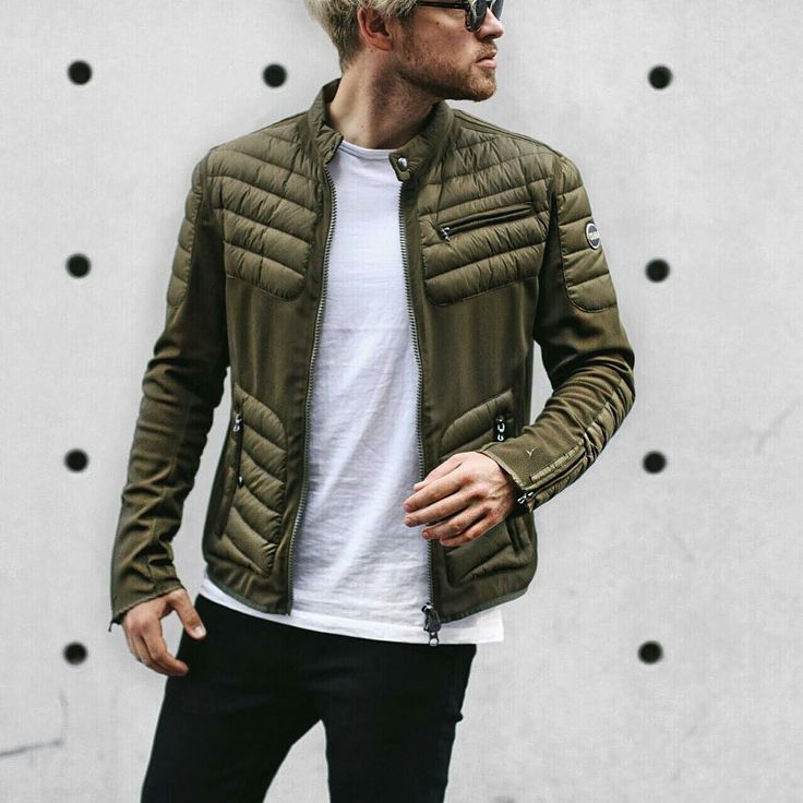 #colmar biker jacket seen on this nice guy #manzetti #mymanzetti #man #style #biker #jacket #outerwear #trendy #fashion #blogger #style #shoponline