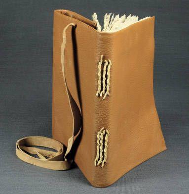 Nag Hammadi style, Egypt :: University of Iowa Libraries Bookbinding Models