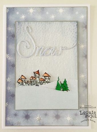 Leonie Pujol Christmas Embossing Folder - #Crafting #Hobbies #Arts #Hochanda #TV #Chrismtas #Crafts #Hobby #Art #lifestyle #LeoniePujol #Creative #festive - www.hochanda.com/