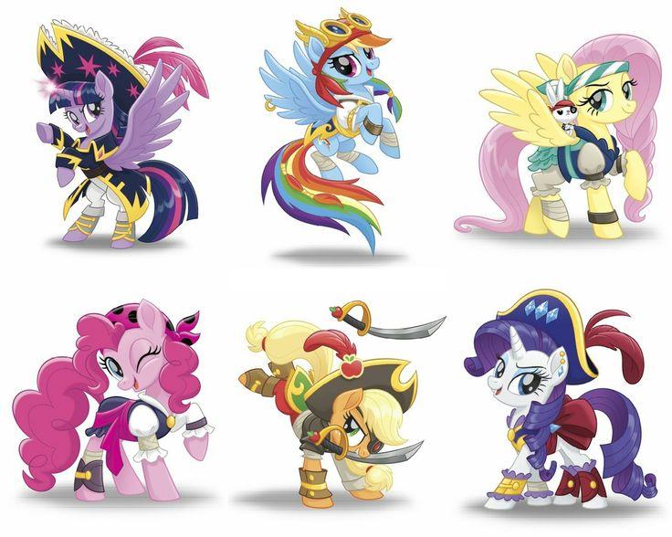 #1525099 - alicorn, angel bunny, applejack, captain twilight, clothes, fluttershy, mane six, my little pony: the movie, one eye closed, pinkie pie, pirate applejack, pirate dash, pirate fluttershy, pirate outfit, pirate pinkie pie, pirate rarity, pony, rainbow dash, rarity, safe, spoiler:my little pony movie, sword, the art of my little pony: the movie, twilight sparkle, twilight sparkle (alicorn), weapon, wink - Derpibooru - My Little Pony: Friendship is Magic Imageboard